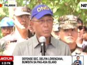 Defense Sec Delfin Lorenza on Pagasa Islang, Spratlys