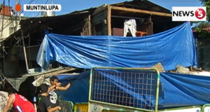 collapsed house Cupang Muntinlupa