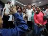 Duterte with repatriated OFWs