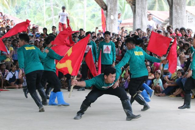 NPA revolutionary dance number