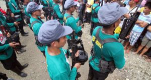 NPA scouts in formation
