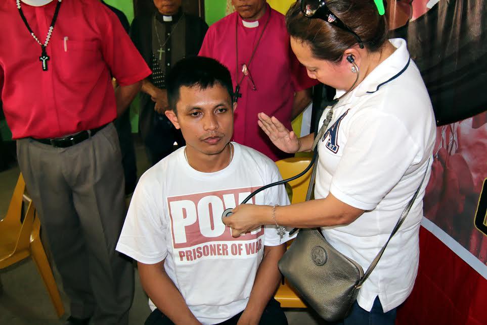 NPA POW medical checkup