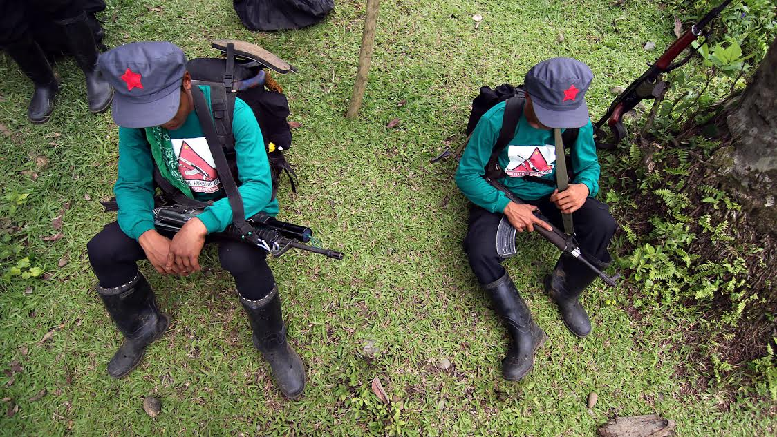 NPA scouts at rest