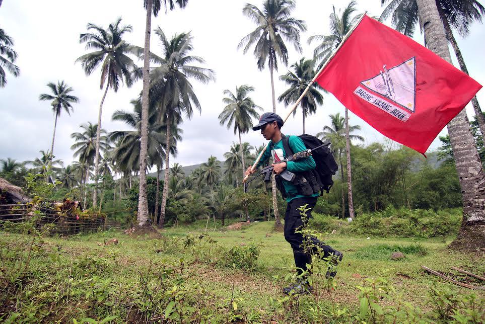 NPA camp in Surigao del Norte