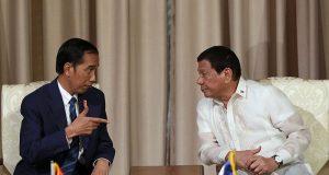 Widodo Duterte seated