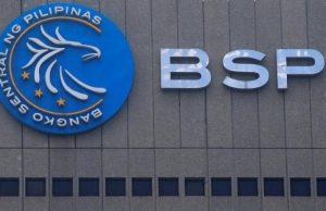 Bangko Sentral logo facade