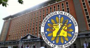 Comelec facade emblem