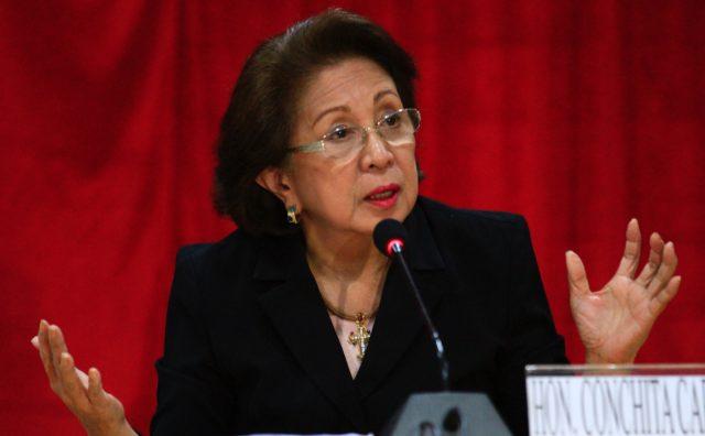 Ombudsman Conchita Carpio-Morales