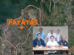 GoogleMap Payatas with QC officials inset
