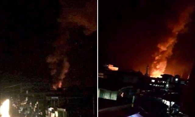 Maraw City fires