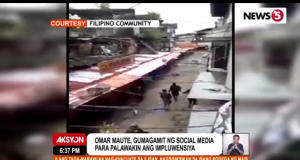 Maute Group social media savvy