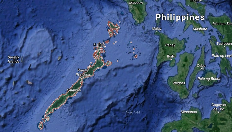 US Warns Citizens Vs Travel To Palawan Over Credible Info Of - Threats to us on a map
