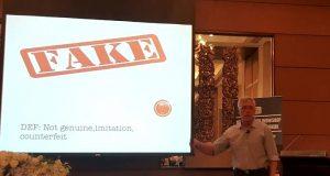 Prof Steven Reiner fake news workshop