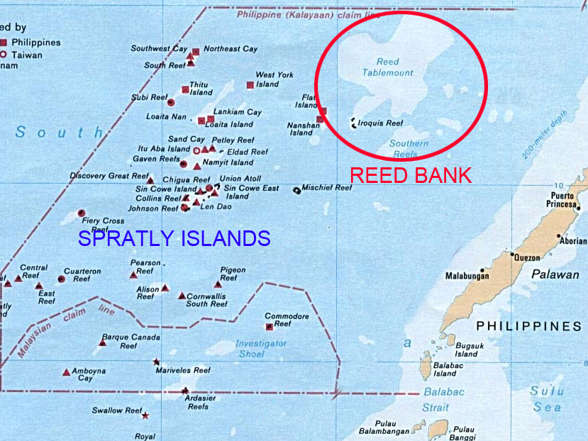 Map Reed Bank