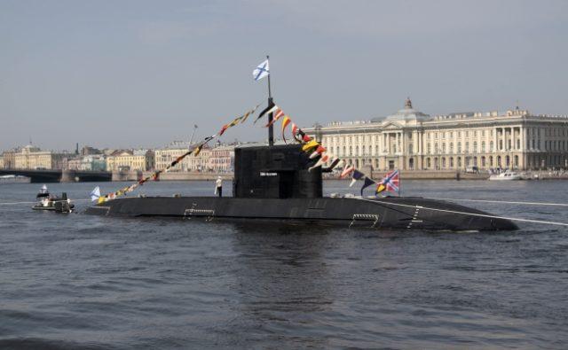 Russian Lada nonnuclear submarine