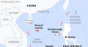 REUTERS South China Sea infograph