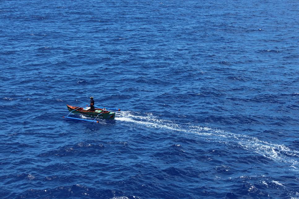 Fisherman's boat at Banham Rise