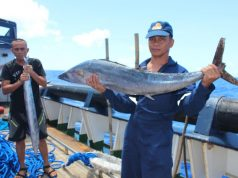 wahoo caught at Benham Rise