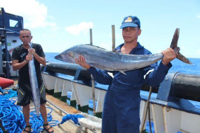 wahoo caught at Benham Rise