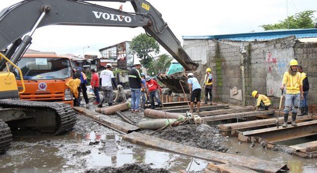 DPWH roadwork