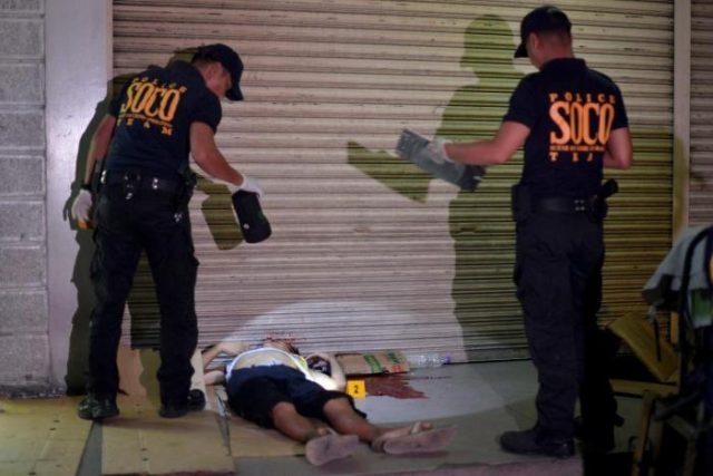 Dead drug suspect