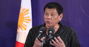 Ridrigo Duterte speaks