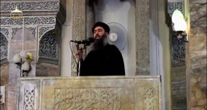 al-Baghdadi file photo