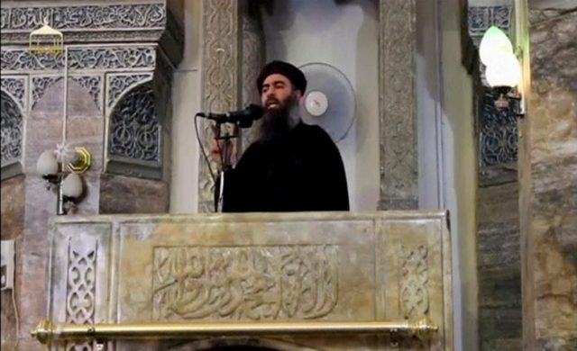 al-Baghdadi file photo