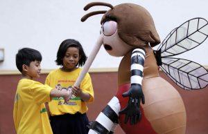 DOH dengue mascot