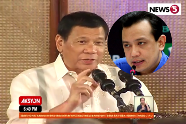 Duterte Trillanes combo
