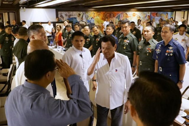 Duterte command conference