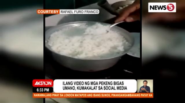 Video fake rice