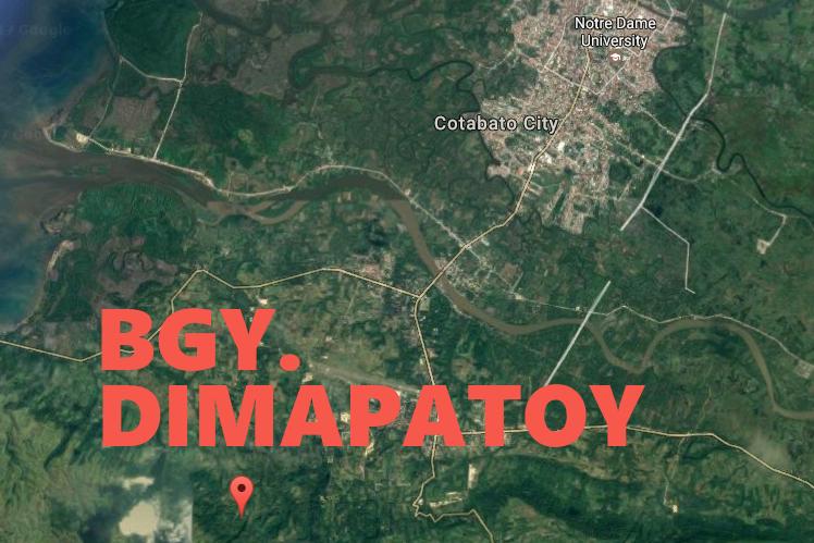 Map Dimapatoy Cotabato