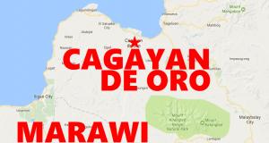 Map Marawi CDO