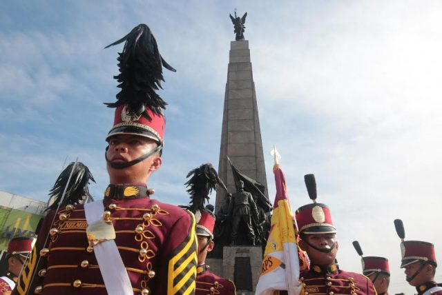 Independence Day 2017 Bonifacio Monument honor guard