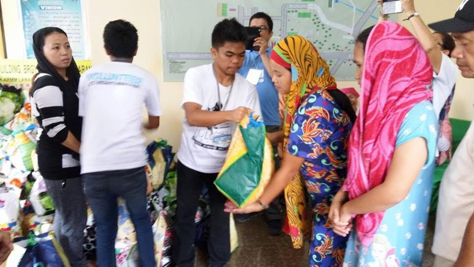 Relief distro Sahuiaran