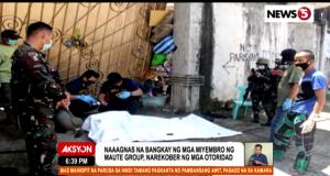 cadaver Marawi