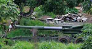 Marawi howitzer gun
