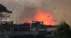 air strike blast Marawi