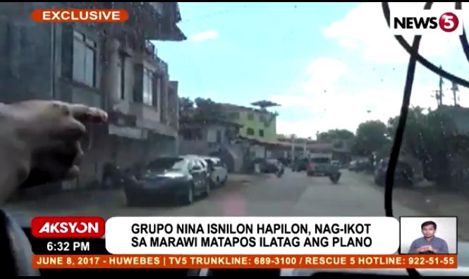 Marawi assault surveillance tour