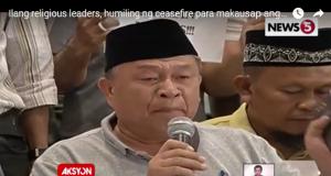 Ulamas call for Marawi ceasefire