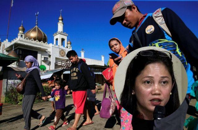 Marawi evacuating inset Arlene Brosas