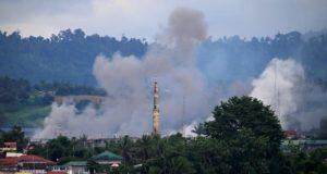 Marawi smoke billows