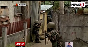 Marawi street fighting
