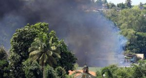 Smoke Marawi City