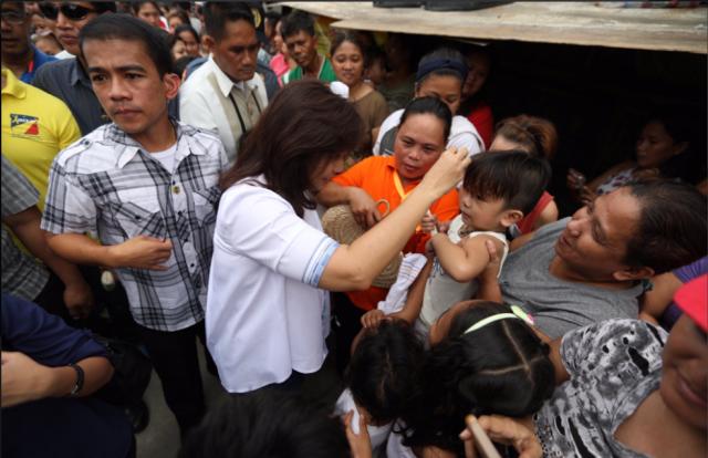 Leni Robredo laylayan visit