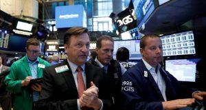 Wall street NYSE trading