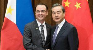 Alan Peter Cayetano Wang Yi