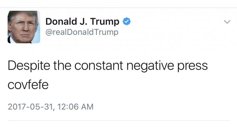 Congressman Introduces 'COVFEFE' Act: Tweets Count As Presidential Record