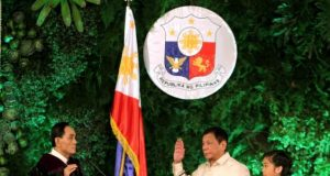 Duterte takes oath as president